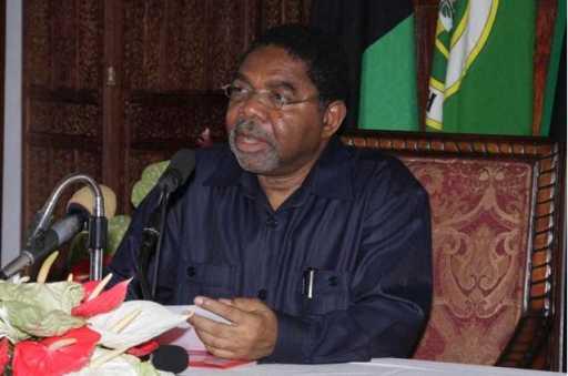 Zanzibar's President, Dr Ali Mohamed Shein