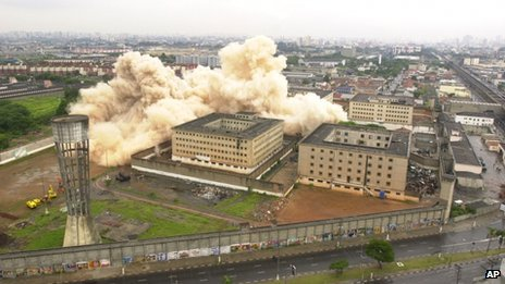 The jail was demolished in 2002, but the state has been slow to bring the perpetrators to trial