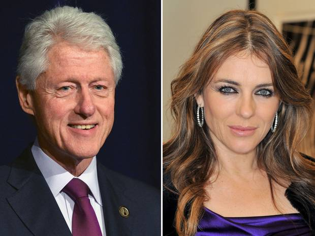 Elizabeth Hurley had 'year long affair with President Clinton – flying to White House for secret sex'