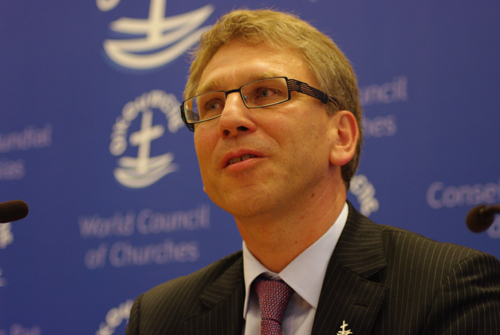 WCC general secretary speaks on themes of justice and peace in DRC