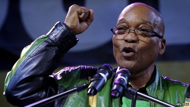 Zuma to be inaugurated in South Africa