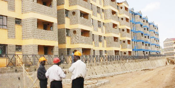 NHC constructs 200 low cost houses at Kibada