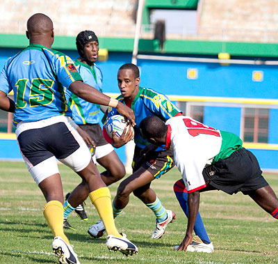 Silverbacks beat Penguin in Rugby friendly