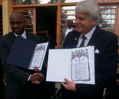 Rwanda's PSF, Polish Chamber of Commerce sign trade deal