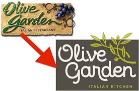 Brand New Look for the Olive Garden