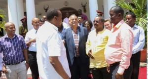 Kenyan President Uhuru Urges Mombasa People To Help Police In Arresting Drug Barons