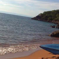 Lake Tanganyika beach