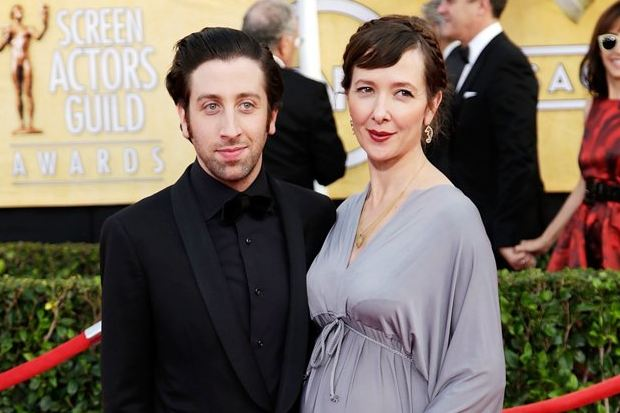 Image result for simon helberg parents