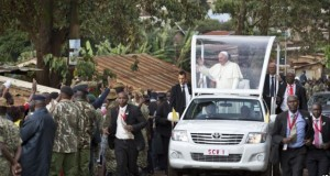 Pope Francis Urges Young Kenyans Should Reject Tribalism