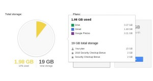 Google Offering 2GB Permanent Drive Space With Account Security Checkup