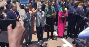 John Magufuli Inaugurates Kigamboni Bridge