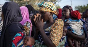 Displaced Nigerian In Banki Following Boko Haram's Raids Receives UN Aids