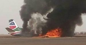 south supreme plane crashes in wau airport
