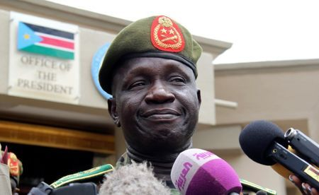 General James Ajongo