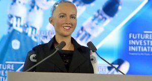 Female Robot Sophia